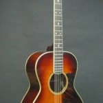 Custom acoustic guitar based on a 1930's Gibson L-00