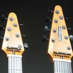 6 string and 8 string peg heads