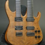 The completed double neck top